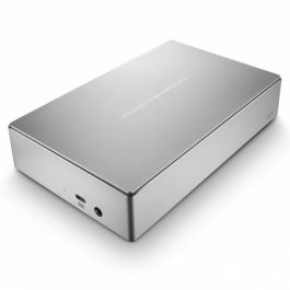 (EOL) Lacie Porsche Design USB-3 (with USB-C adapter) (4TB) - Silver