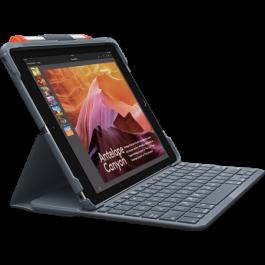 Husa cu tastatura Logitech Slim Folio pentru iPad (gen 5 si 6)