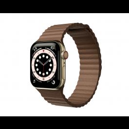 Curea Next One Leather Loop pentru Apple Watch 42-44mm, Maro