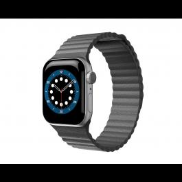 Curea Next One Leather Loop pentru Apple Watch 42-44mm, Stone