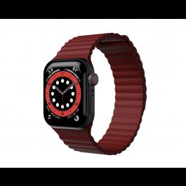 Curea Next One Leather Loop pentru Apple Watch 42-44mm