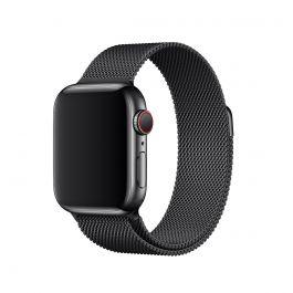 Curea Apple Watch 40mm Band: Space Black Milanese Loop