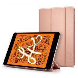 Husa de protectie Spigen Smart Fold pentru iPad Mini 5, Rose Gold