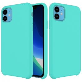 Husa de protectie Next One pentru iPhone 11, Silicon, Mint