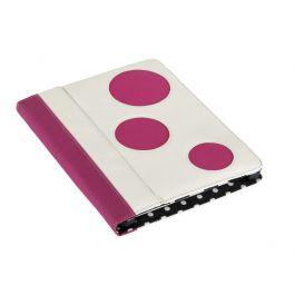 Seth Aaron Series Leather Folio For iPad - Polka