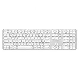 Tastatura Wireless Satechi, Aluminiu, Argintiu