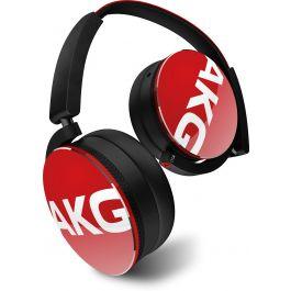 AKG Y50 Red On-Ear headphones