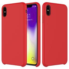 Husa de protectie Next One pentru iPhone XR, Silicon, Rosu