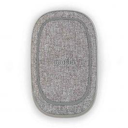 Baterie externa Moshi Porto Q 5K cu încărcare Qi wireless, Nordic Gray