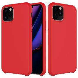 Husa de protectie Next One pentru iPhone 11 Pro, Silicon, Rosu