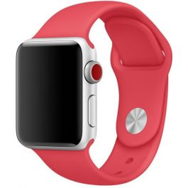 Apple - Red Raspberry Sport Band 42mm - S/M & M/L