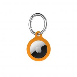 Breloc Next One pentru AirTag Silicon, Orange