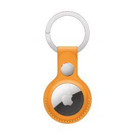 Breloc Apple pentru AirTag Key Ring Piele, California Poppy (Seasonal Summer2021)