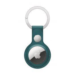 Breloc Apple pentru AirTag Leather Key Ring, Forest Green (Seasonal Summer2021)