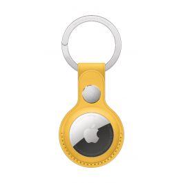 Breloc Apple pentru AirTag Key Ring Piele, Meyer Lemon (Seasonal Summer2021)