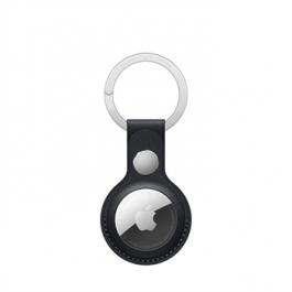 Breloc Apple pentru AirTag Leather Key Ring, Midnight