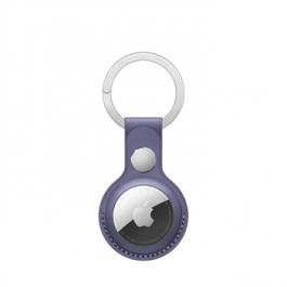 Breloc Apple pentru AirTag Leather Key Ring, Wisteria