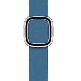 Curea Apple Watch 40mm Cape Cod Blue Modern Buckle Band - Large