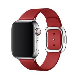 Curea Apple Watch 40mm Band: (PRODUCT)RED Modern Buckle Band - Large