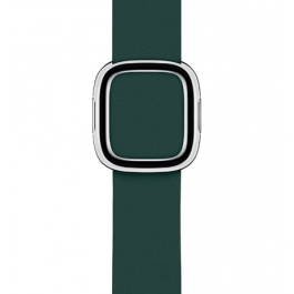 Curea Apple Watch 40mm Forest Green Modern Buckle Band - Small