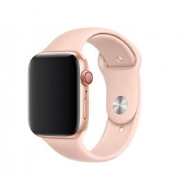 Curea Apple Watch 44mm: Pink Sand Sport Band - S/M & M/L