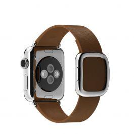 Apple Watch 38mm Buckle: Modern (L) - Brown (curea)