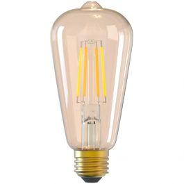 Bec WiFi Filament, E27, 6W, fumuriu, lumina alba/calda, reglabil