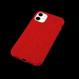 Husa de protectie biodegradabila NextOne pentru iPhone 11, Rosu