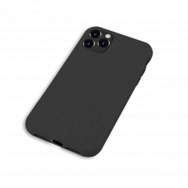 Husa de protectie biodegradabila NextOne pentru iPhone 11 Pro Max, Negru