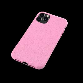 Husa de protectie biodegradabila NextOne pentru iPhone 11 Pro Max, Roz
