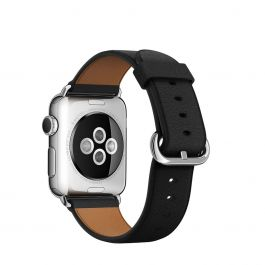 Curea Apple Watch 38mm Black Classic Buckle