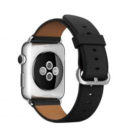 Curea Apple Watch 42mm Black Classic Buckle