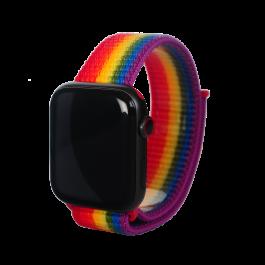 Curea Next One pentru Apple Watch 42/44mm Sport Loop, Pride, Resigilat