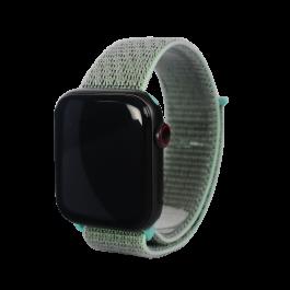 Curea Next One pentru Apple Watch 38/40mm Sport Loop, Marine Green