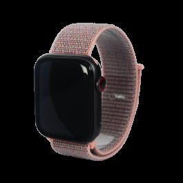 Curea Next One pentru Apple Watch 42/44mm Sport Loop, Roz Prafuit
