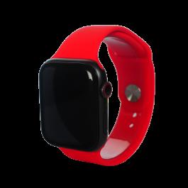 Curea Next One pentru Apple Watch 38/40mm, Silicon, Rosu