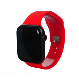 Curea Next One pentru Apple Watch 42/44mm, Silicon, Rosu