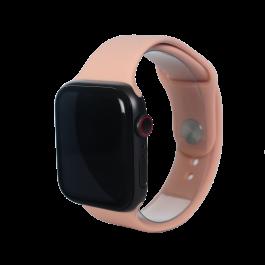Curea Next One pentru Apple Watch 42/44mm, Silicon, Roz prafuit