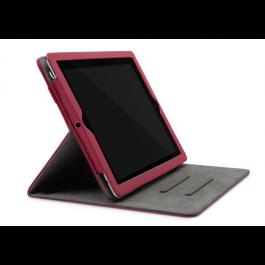 Incase Book Jacket Select for iPad 2/3/4 - Dark Cranberry/ Grey