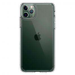 Husa de protectie Spigen Crystal Hybrid pentru iPhone 11 Pro, Transparent
