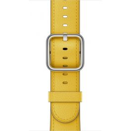 Curea Apple Watch 42mm Spring Yellow Classic Buckle
