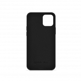 Husa de protectie Epico pentru iPhone 12 Pro Max, Silicon, Negru