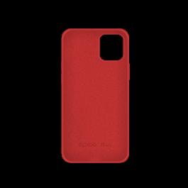 Husa de protectie Epico pentru iPhone 12 / iPhone 12 Pro, Silicon, Rosu