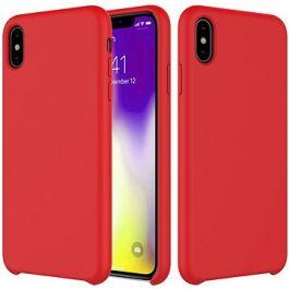 Husa de protectie Epico pentru iPhone XR, Silicon - Rosu