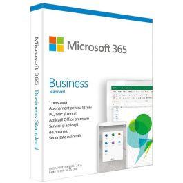 Microsoft 365 Business Standard, Engleza, Subscriptie 1 An, 1 Utilizator