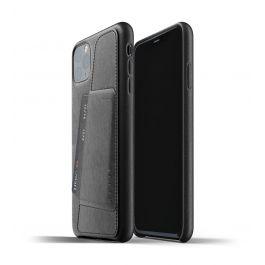 Husa de protectie Mujjo tip portofel pentru iPhone 11 Pro Max, Piele