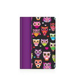 Griffin Folio Wise Eyes for iPad mini - black + purple