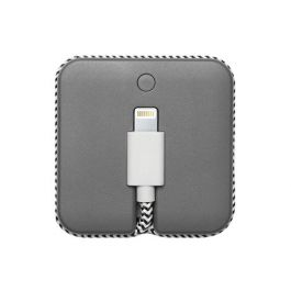 Native Union Jump Cable Coral 2-in-1 (charging cable and battery booster 800mAh) - Gray