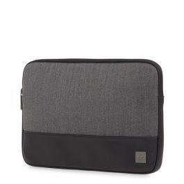 """Husa de protectie Knomo HERRINGBONE pentru MacBook Pro 13"""", Gri"""