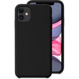 Husa de protectie Epico pentru iPhone 11, Silicon, Negru